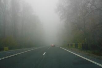 Meteorologii au emis un cod galben de ceata in Bucuresti si 18 judete din sudul si estul tarii