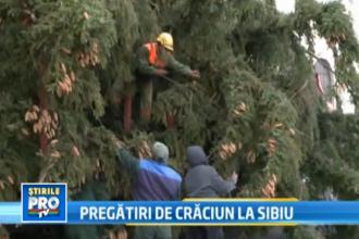 La Sibiu a inceput numaratoarea inversa pana la sarbatorile de iarna