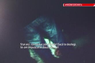Umilinta la care a fost supus un liceean rapit si tarat pe un camp din Oradea.