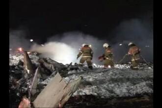 Tragedie aviatica in Rusia. 50 de morti, dupa ce un avion a explodat la aterizare, in Kazan