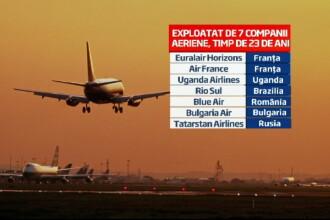 Avionul vechi de 23 de ani care s-a prabusit in Rusia a fost folosit de Blue Air in Romania