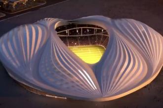 Stadionul Al-Wakrah din Qatar are