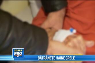 Batranete, haine grele. O femeie de 74 de ani din Cluj a ajuns sa cantareasca 40 de kilograme
