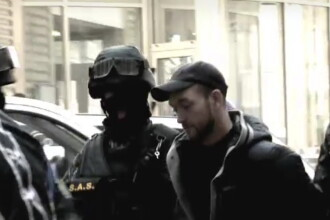 Vitalie Proca a fost dus in fata anchetatorilor flancat de membrii trupelor speciale de interventie