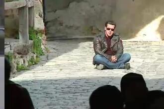 Salman Khan a filmat la Sighisoara. Ce a raspuns la intrebarea