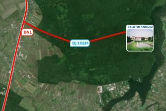 Romania a ajuns sa asfalteze un drum de rusine. Premierul chinez il va traversa intr-o saptamana