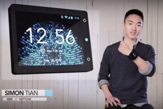 Are 19 ani si a renuntat la facultate ca sa lanseze cel mai destept ceas din lume