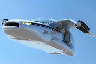 Tehnologia care depaseste limitele imaginatiei. Prima masina zburatoare din lume. FOTO