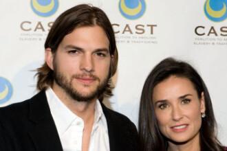 Divortul dintre Demi Moore si Ashton Kutcher, pronuntat oficial