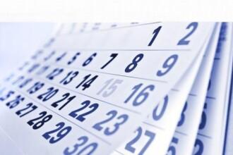 ZILE LIBERE IN 2015. Bugetarii vor avea parte de 13 ZILE LIBERE, insa 5 dintre ele pica in weekend