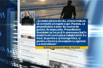 Reactia lui Ponta dupa ce purtatorul de cuvant al Guvernului a spus ca presedintele s-a