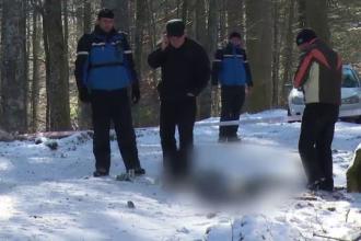 Descoperire macabra a jandarmilor din Sinaia. Au gasit cadavrul unei femei, sfasiata de animale