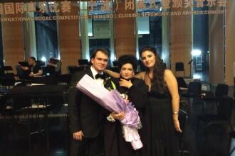 Extraordinar succes al artistilor romani in China