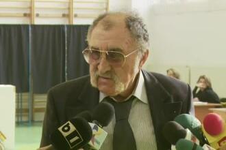 Ion Tiriac a votat in Romania pentru ca la Paris erau