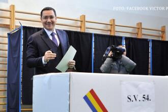 REZULTATE EXIT POLL. Victor Ponta l-a provocat pe Iohannis la o serie de dezbateri televizate.