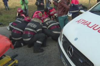 Un sofer fara experienta a provocat un accident cu opt raniti in Gorj. Detaliile socante oferite de martori