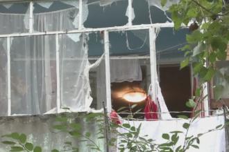 Panica intr-un bloc din Galati. Locatarii au fost zguduiti de o explozie, dupa ce o batrana a uitat aragazul aprins