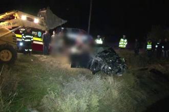 Trei barbati au murit dupa ce masina lor s-a prabusit intr-un canal adanc de 4 metri. Cum s-a produs accidentul