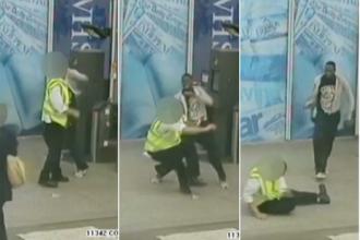 L-a daramat cu un singur pumn. Incidentul a avut loc la o statie de tren din Londra