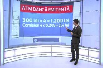 Bancile castiga peste 200 de milioane de euro/an din comisioane.