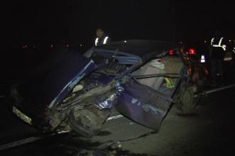 Accident grav pe soseaua de centura a orasului Craiova. Un barbat a murit, iar alte trei persoane au ajuns la spital