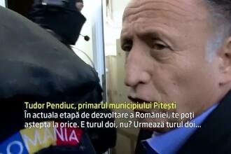 PSD-istul Teodor Pendiuc, primarul orasului Pitesti, si fiica acestuia, retinuti de procurorii DNA. Prejudiciul: 1 milion €