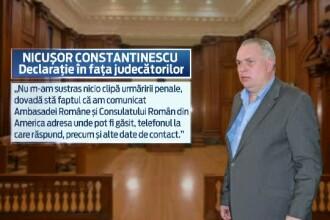 Nicusor Constantinescu ramane in spatele gratiilor. Instanta a confirmat mandatul de arestare pe numele sau