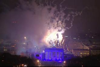 Moment istoric sarbatorit in Germania. Mii de baloane luminoase au marcat 25 de ani de la caderea Zidului Berlinului