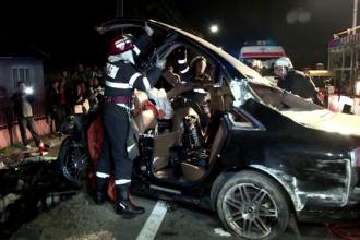 O noua victima a accidentului de langa Baia Mare. Tanarul aflat in coma de gradul 5 a murit duminica seara la spital