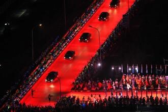 O extravaganta muzicala costisitoare. Cum au fost primiti Barack Obama si Vladimir Putin la Beijing. VIDEO