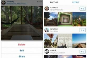Schimbarea anuntata de reprezentantii Instagram. Utilizatorii au acum posibilitatea de a edita descrierea pozelor