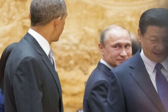 Barack Obama si Donald Tusk cer Rusiei sa retraga trupele din estul Ucrainei