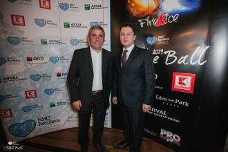 La balul de caritate al Hope and Homes for Children, Gheorghe Hagi a licitat 2.000 de euro pentru un colier pentru fiica sa