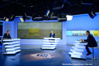 DEZBATERE IOHANNIS - PONTA la TV, pe tema pensiilor: