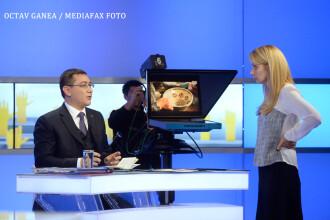 Ce NU s-a vazut la dezbaterea Ponta-Iohannis. GALERIE FOTO: imagini inedite din culisele duelului intre candidati