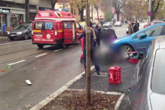 Accident grav in Capitala. Doi pietoni, un barbat si o femeie, au fost loviti chiar cand se pregateau sa traverseze strada