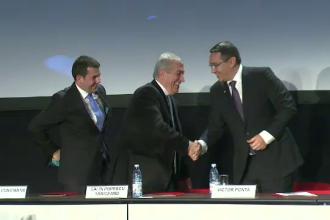 USL 2.0. Liderii PSD, UNPR si PC au semnat alianta cu PLR. Iohannis: