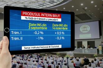 Ponta: Datele revizuite arata ca economia a evitat intrarea in recesiunea tehnica. Iohannis: Posibil, dar romanii n-au simtit