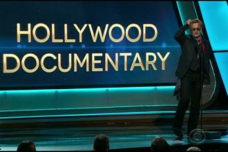 Moment regizat sau pur si simplu beat pe scena? Discursul ciudat al lui Johnny Depp la prezentarea unui premiu