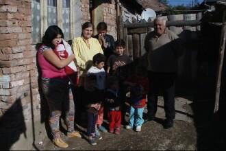 Povestea unor 14 copii din judetul Cluj care se zbat in saracie