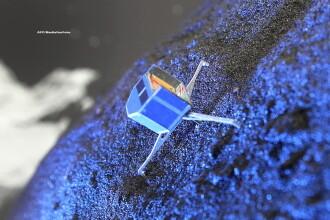 Robotul Philae a facut o descoperire senzationala pe suprafata cometei Ciuriumov: