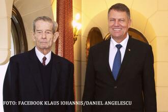 Ultima aparitie publica a Regelui Mihai, 19 noiembrie 2014, cand si-a sarbatorit ziua si l-a primit pe Klaus Iohannis. VIDEO