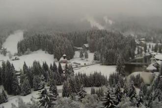 Iarna in Romania. Weekend cu temperaturi in scadere si vreme inchisa: in Bucuresti termometrele nu sar de 6 grade Celsius