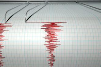 Cutremur cu magnitudinea 3,1 pe scara Richter in Vrancea, produs sambata dimineata