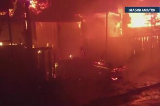 Incendiu de proportii la o manastire din Tulcea. Localnicii au reusit sa salveze carti vechi de mai bine de 300 de ani