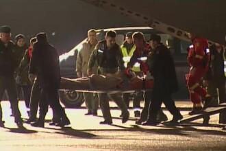 Unul dintre militarii raniti in tragedia aviatica din Sibiu a fost supus unui transplant de piele. Are arsuri profunde