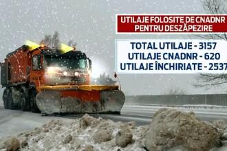 In Romania, utilajele de deszapezire ajung abia la vara. Iarna asta, orice dezastru incepe cu doua cuvinte: