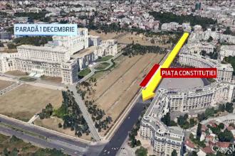 De 1 Decembrie, Basescu va fi in Piata Constitutiei, Iohannis in Alba Iulia. Programul si harta defilarilor din Capitala