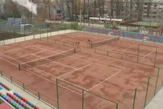 Primaria Capitalei a inaugurat Academia de Tenis. Alternativa la cluburile private pentru copiii care viseaza sa fie ca Halep