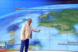 Zonele din Romania in care s-ar putea sa ninga. Prognoza meteo pentru weekend